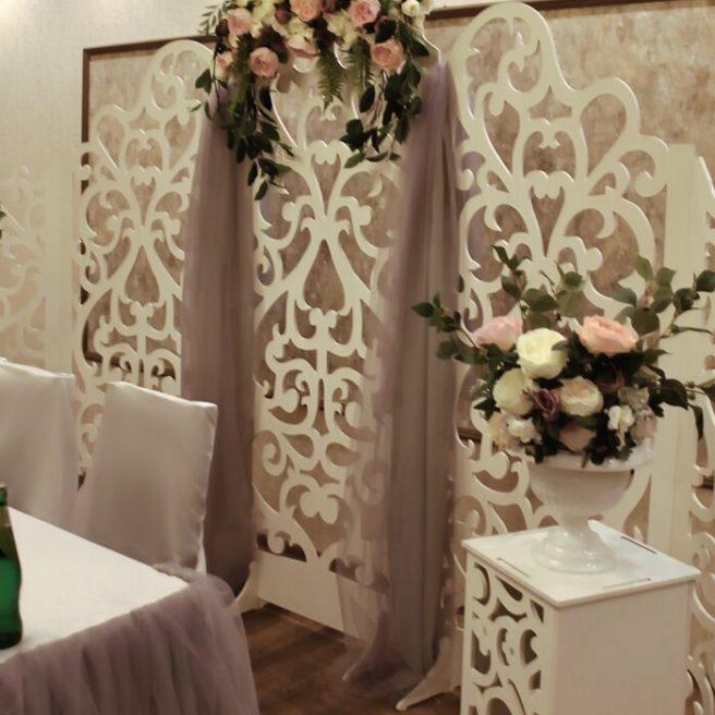 Украсить на свадьбу зал недорого