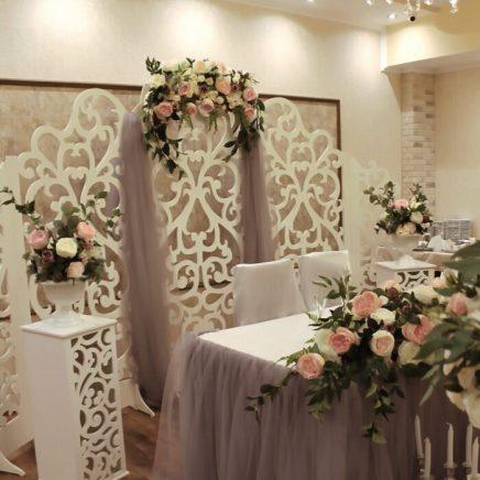 Свадебные тренды декор