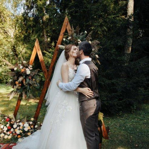 Летняя свадьба