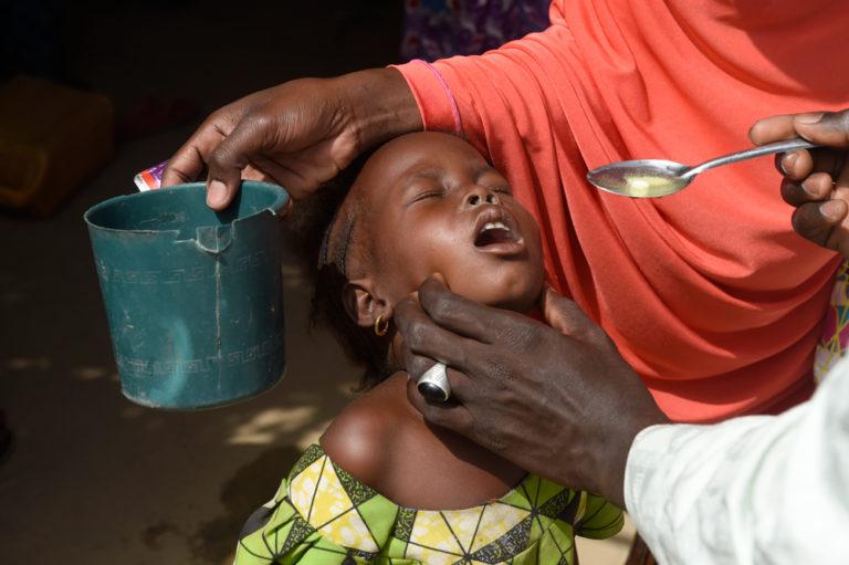 Polio Infrastructure Helping Stop Malaria in Nigeria.