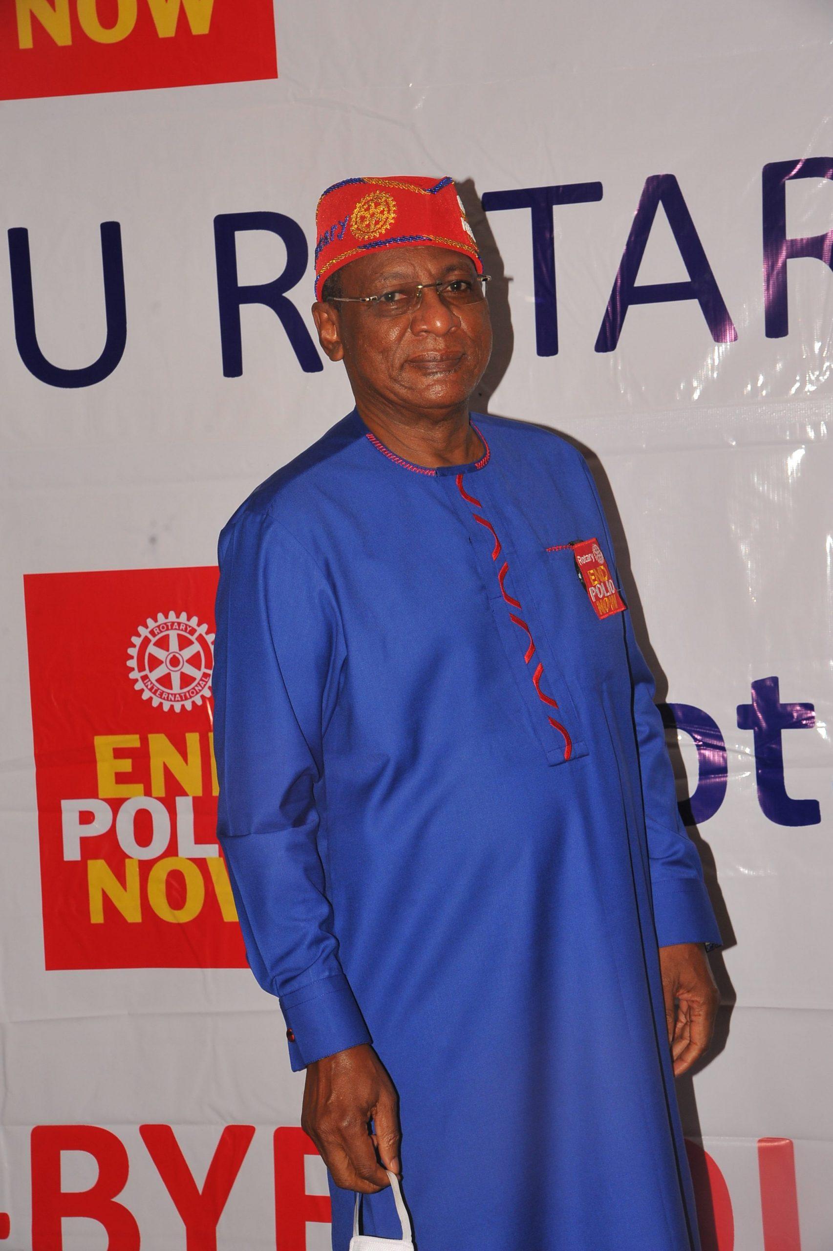 Nigeria National Polioplus Committee Chairman : Dr Tunji Funsho