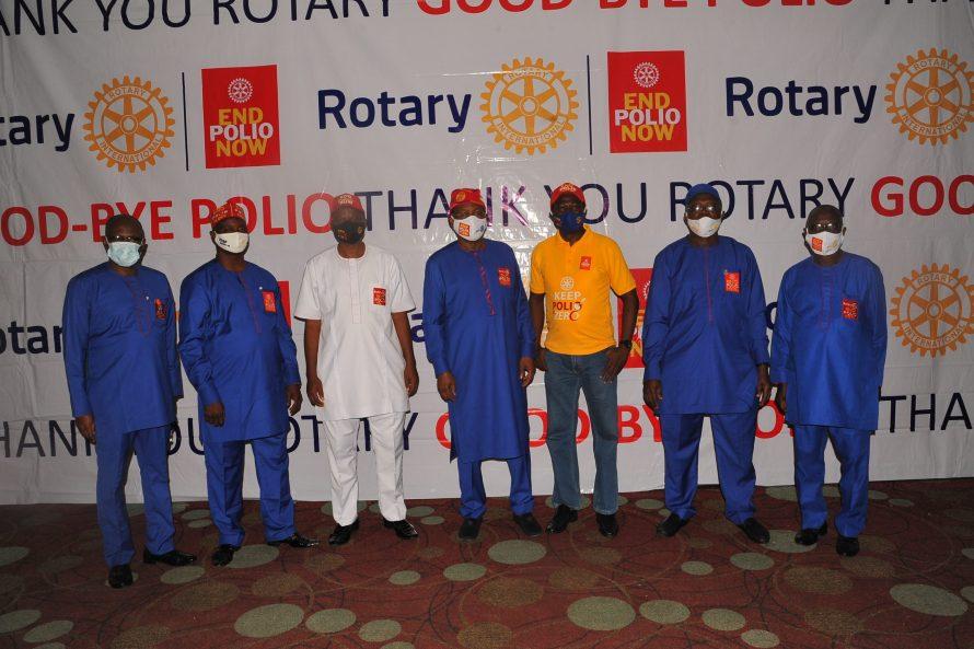 Nigeria National PolioPlus Committee Members and DGE Ayo