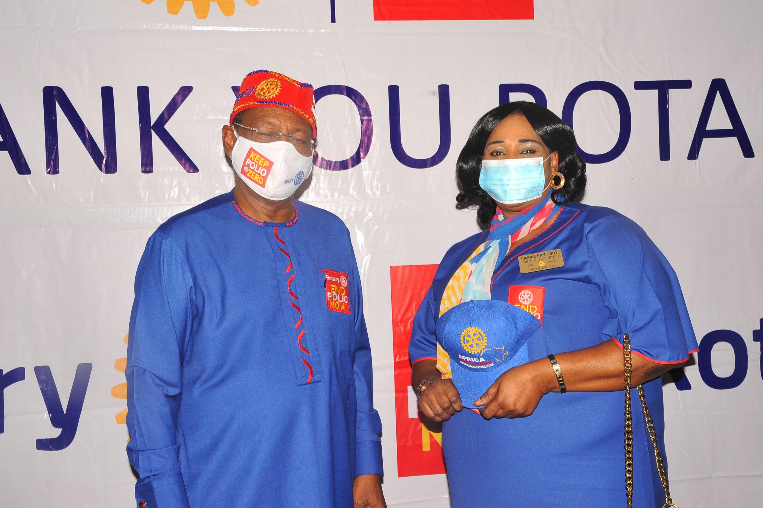 Dr Tunji Funsho and DG Jumoke Bamigboye