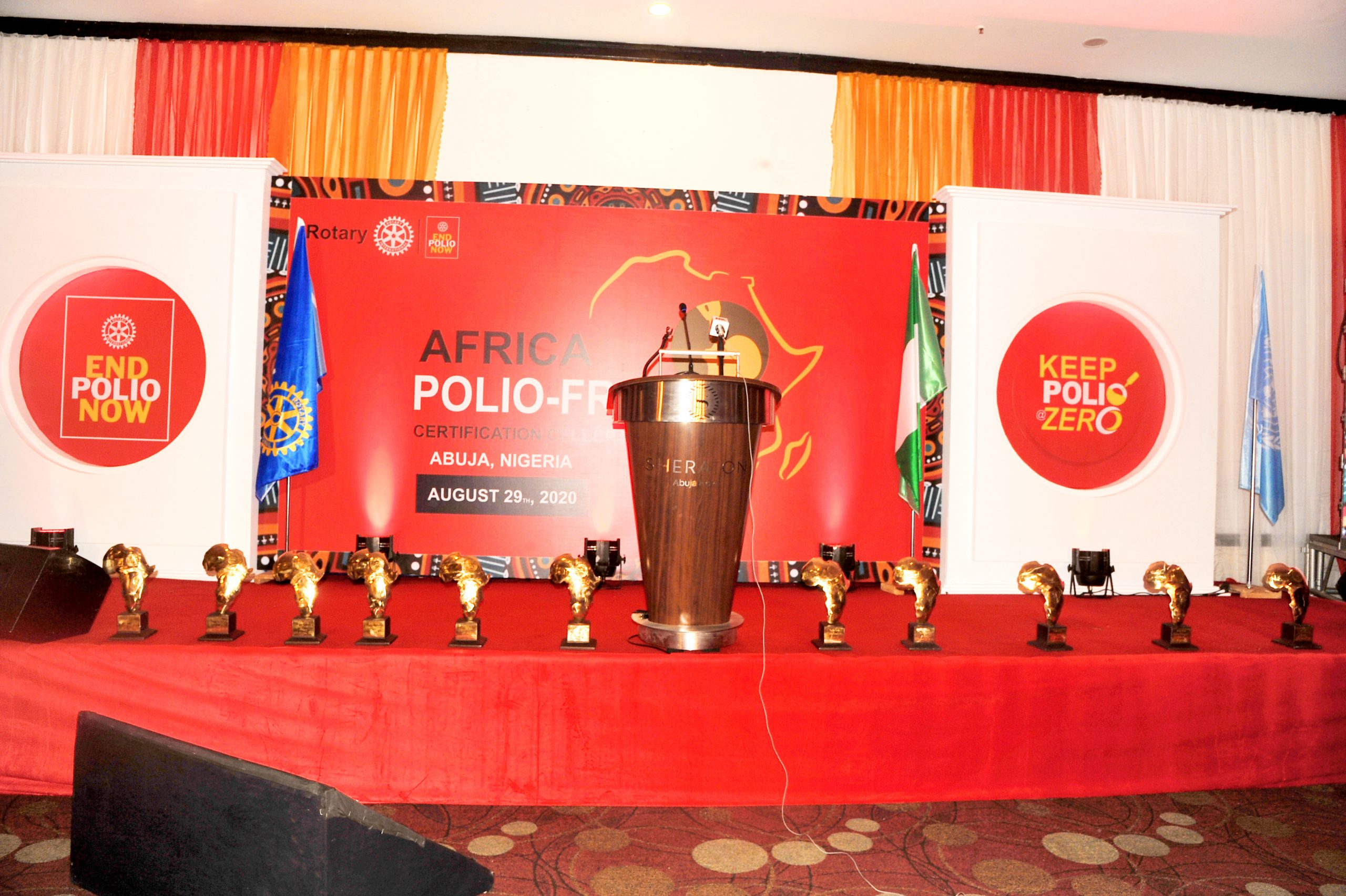 African Polio-Free Awards.