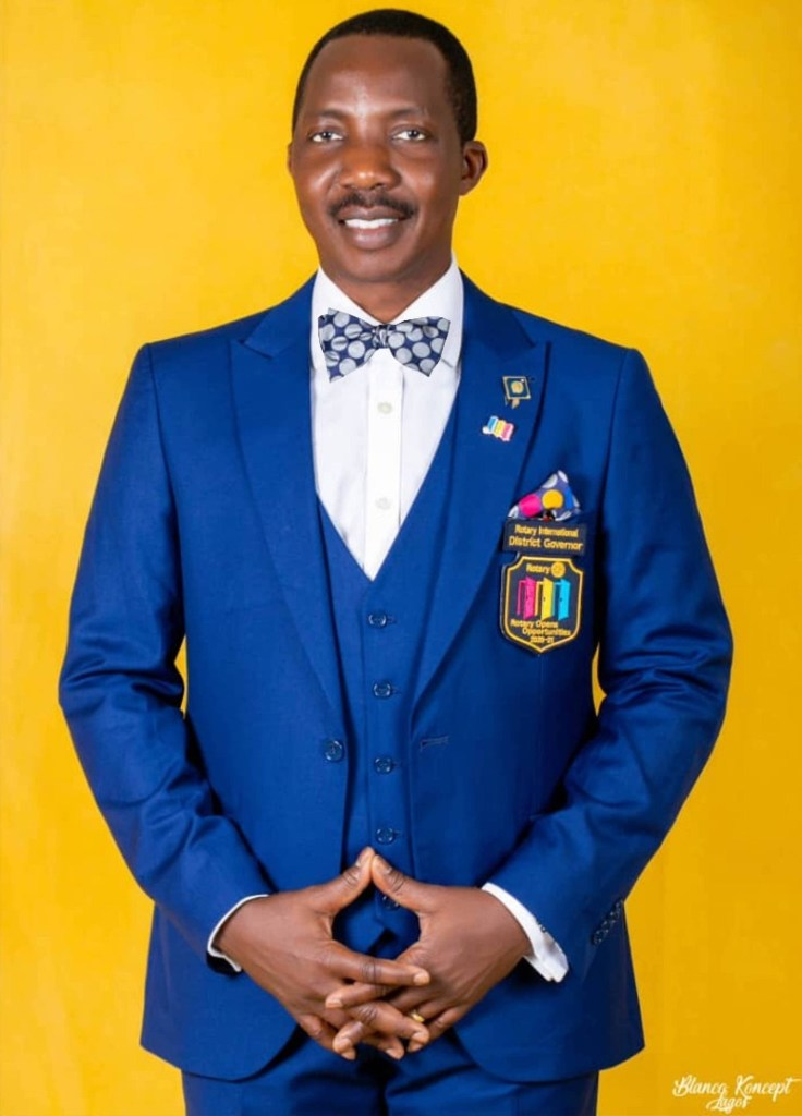 Bola Oyebade  Governor, Rotary District 9110
