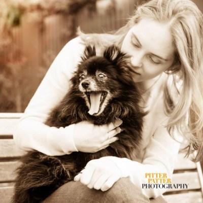 Koko and I - my childhood dog