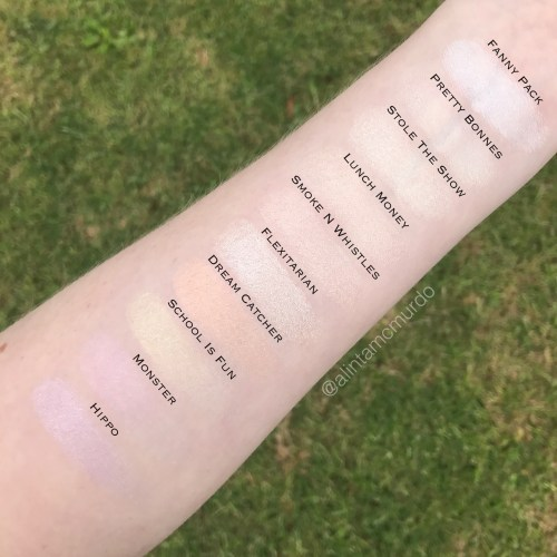 Colourpop highlighters
