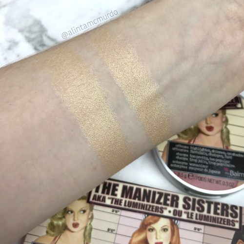 Mary-Lou manizer in the palette compared to the single version