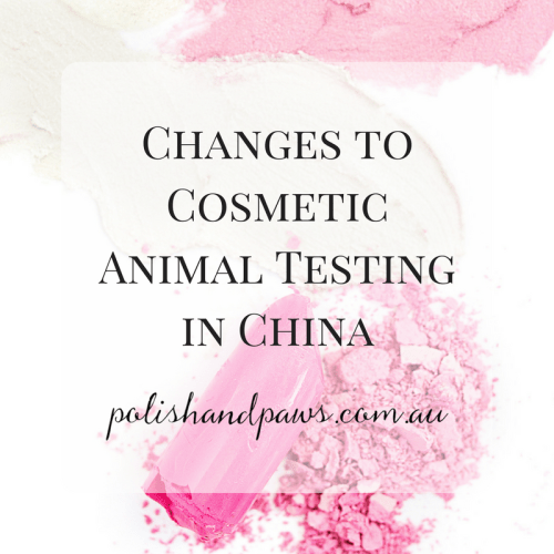 Changes to cosmetic animal testing in China