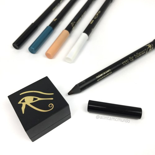 Eye Of Horus Cosmetics Goddess Pencil eyeliners and cosmetic sharpener