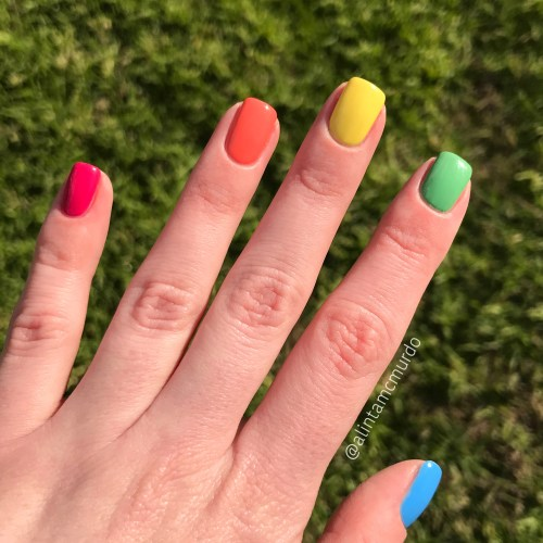 Grace-full Nail Polish Fruit Salad Collection nails