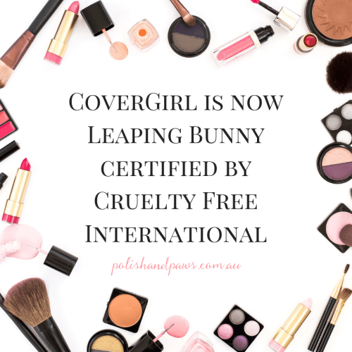 CoverGirl is now Leaping Bunny Certified by Cruelty Free International