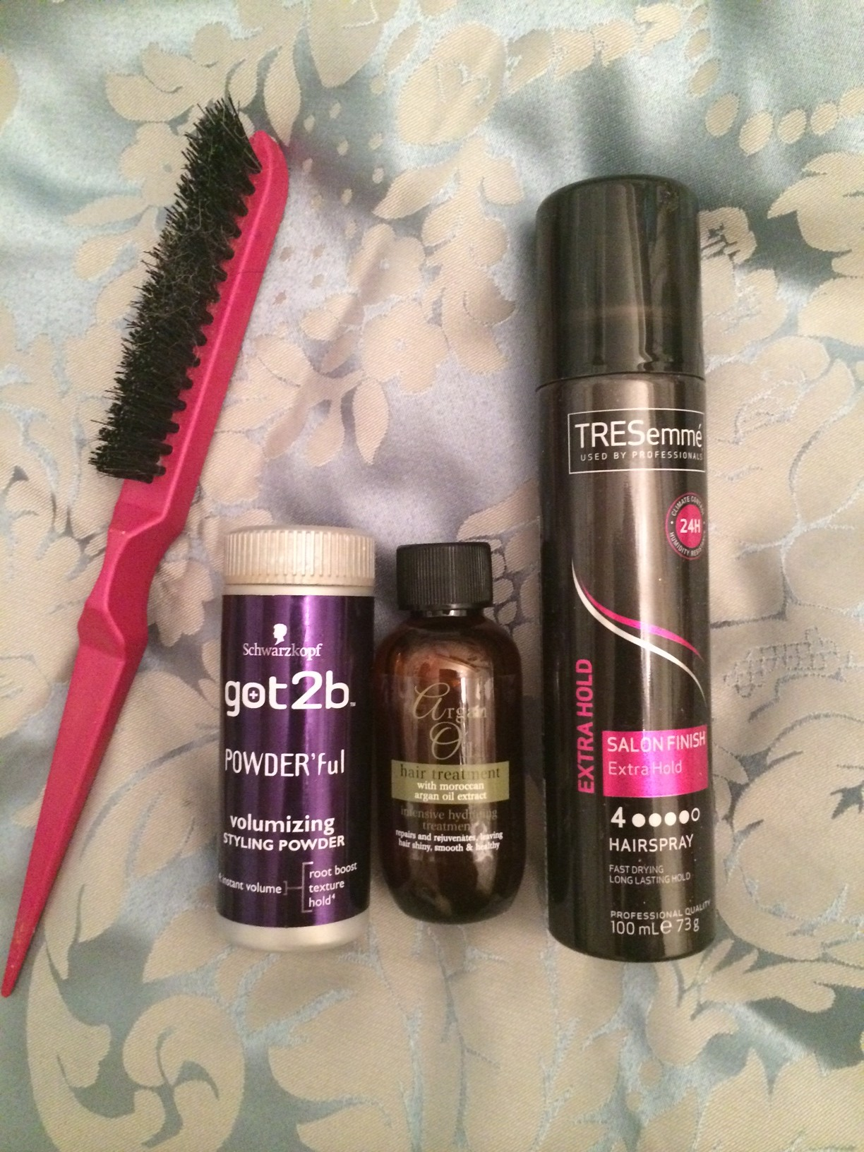 My Daily Hair Products