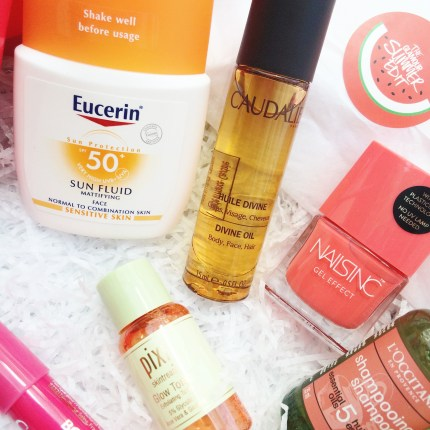 Glamour summer edit box