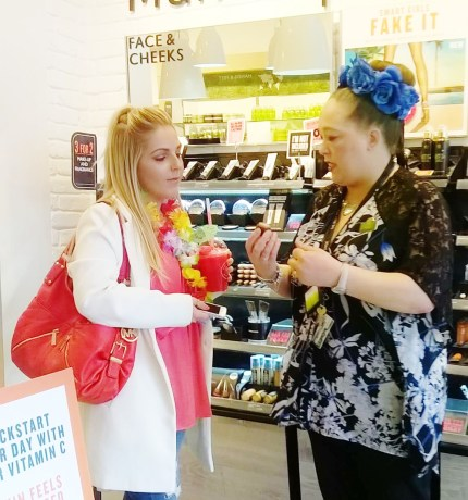 The Body Shop 'Seize the summer' event