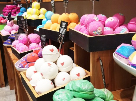 Lush happy hour event easter range