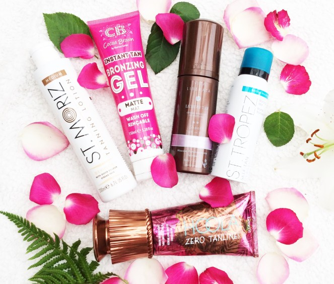 My 5 Favourite Self Tans