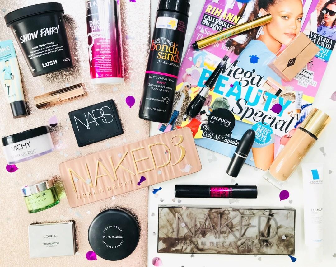 4th Blog Birthday - My Beauty Faves