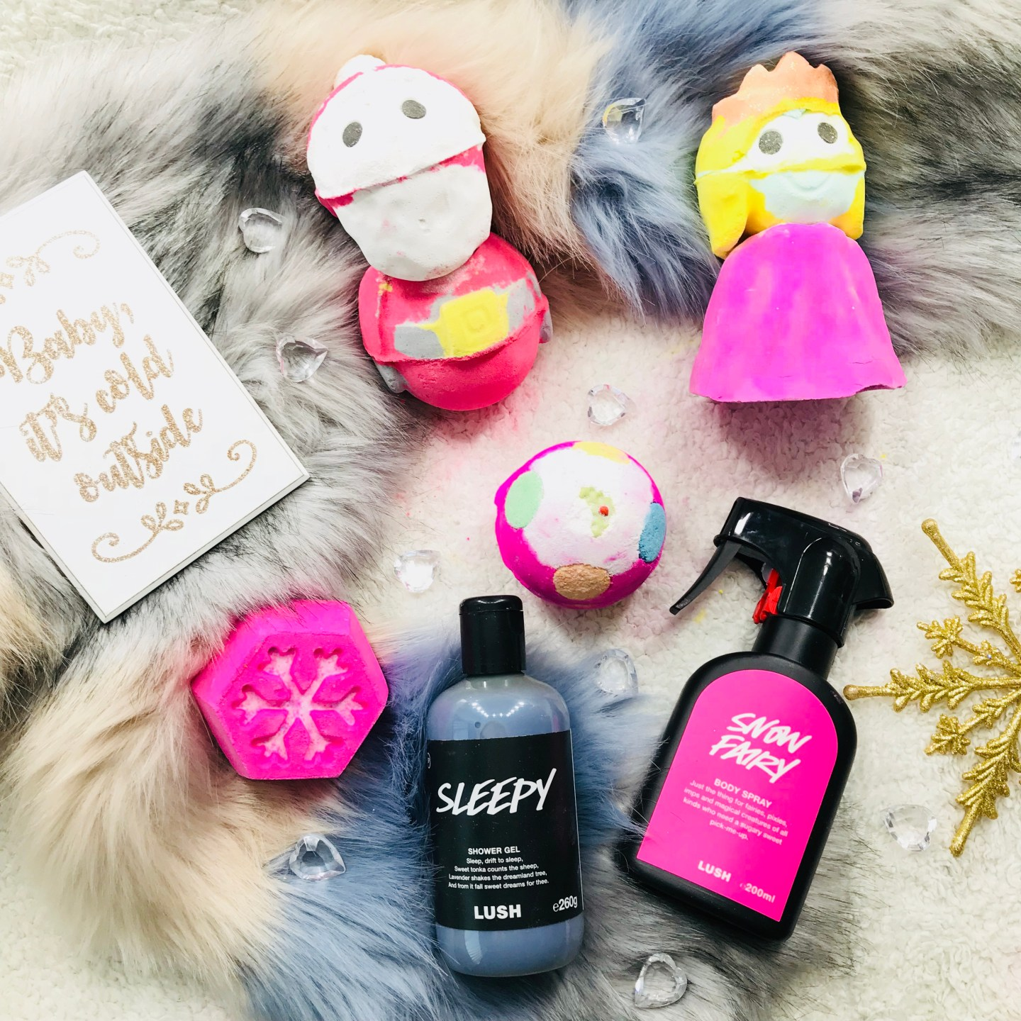 Lush Christmas Products 2018