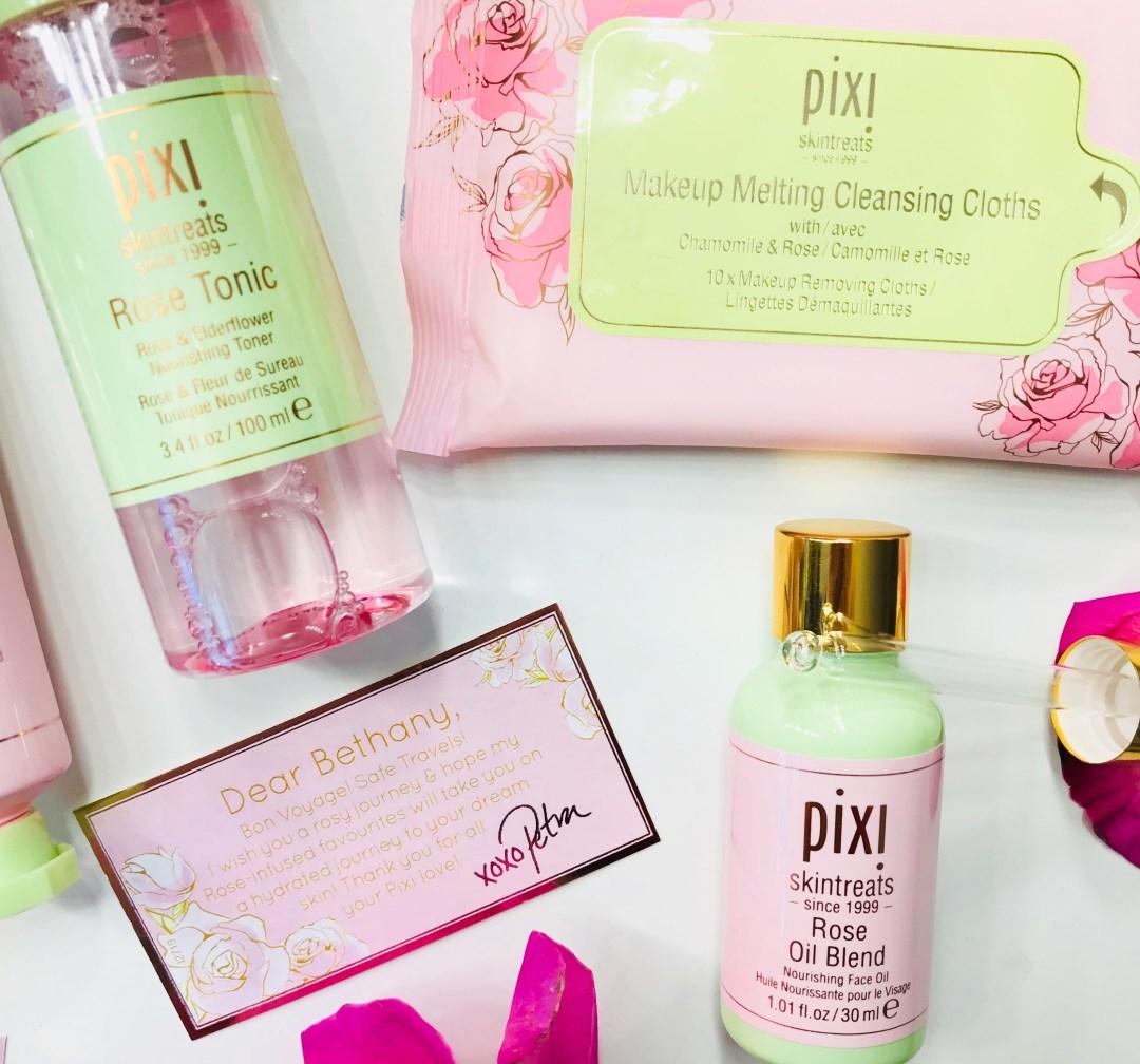 pixi beauty rose tonic rose oil