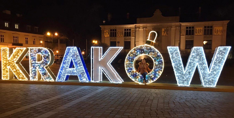 krakow christmas lights