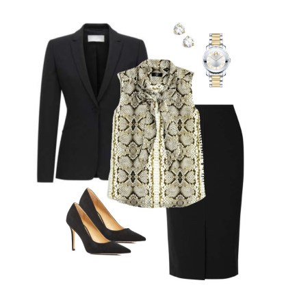 Professional Women's Outfit