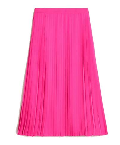 J.Crew - pink maxi skirt