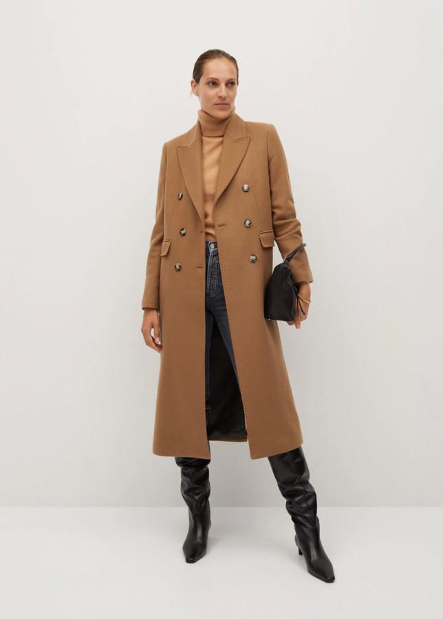 tan Mango coat