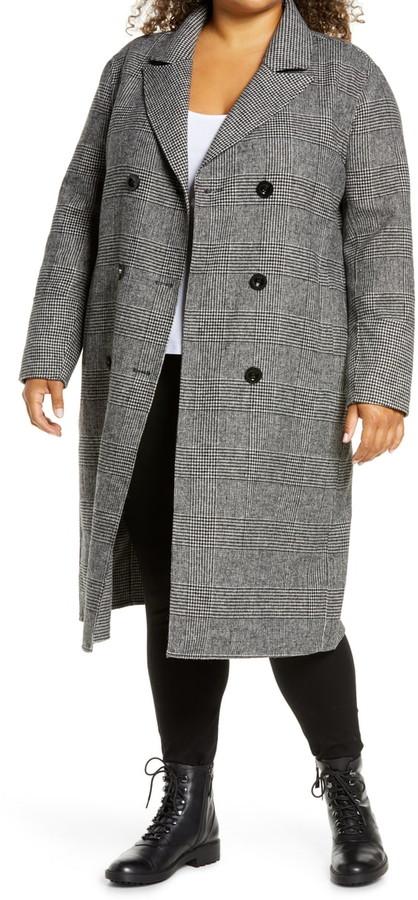 grey plaid Kenneth Cole