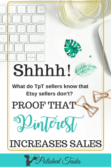Proof that Pinterest Increases Etsy and TpT sales