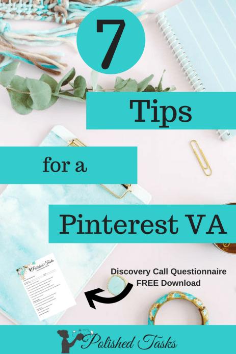 7 Tips for a Pinterest Virtual Assistant- Polished Tasks Management