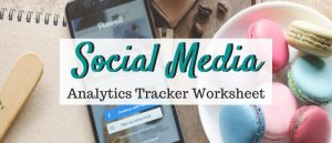 Social Media Analytics Tracker Sign Up Form