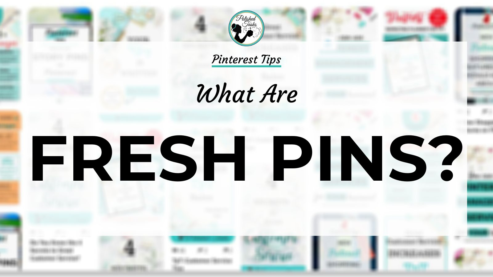 Header Image for Blog Post What are Fresh Pins
