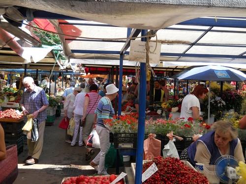 farmers market Krakow