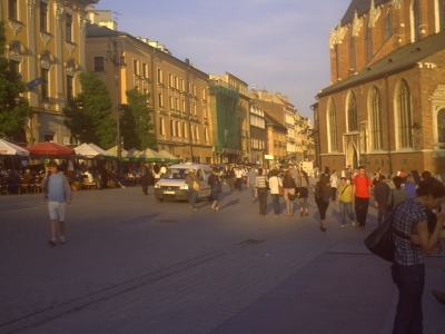 market square Krakow Poland