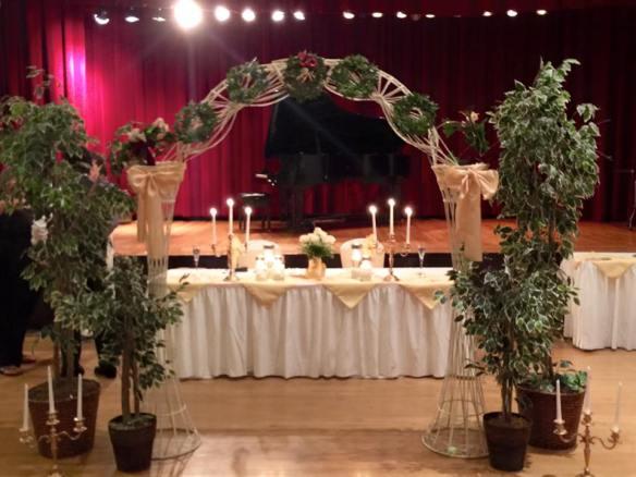 Page photo - wedding setup