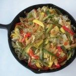Mediterrain Style Skillet Vegetables