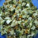 Broccoli ~ Raisin ~ Nut Salad