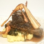 Black and Tan short ribs