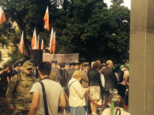 warsaw uprising poznan ceremony
