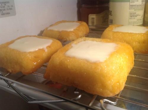 Rose Levy Beranbaum's Lemon Posset Shortcakes from The Baking Bible
