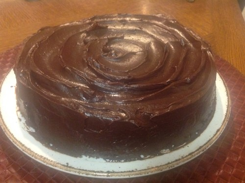 Chocolate Pavarotti with Wicked Good Ganache from The Baking Bible