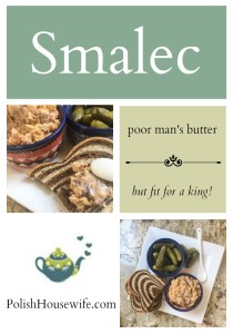 Polish Smalec - poor man's butter, but fit for a king!