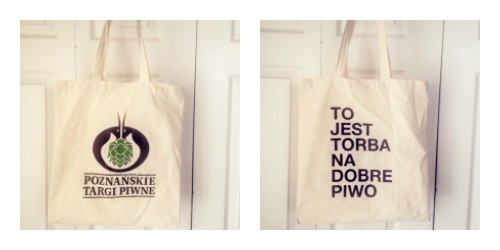 Polish Beer Tote Bag Giveaway
