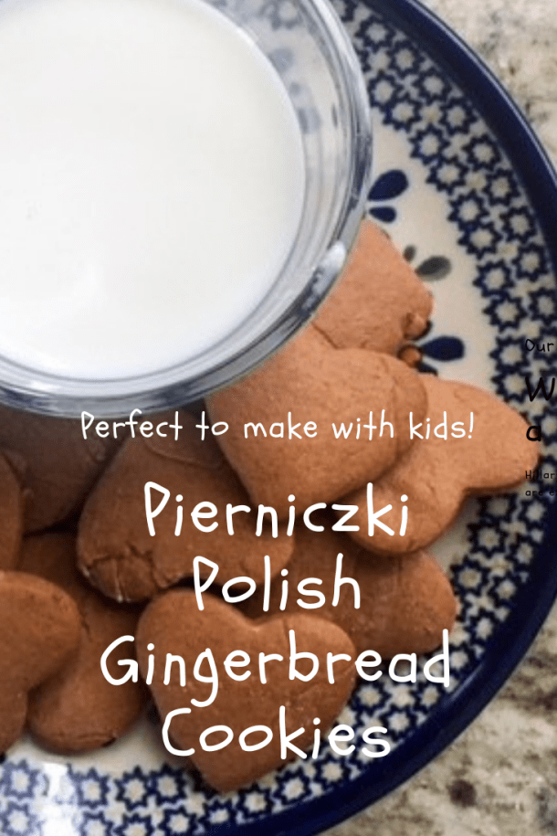 Pierniczki Polish Gingerbread - easy to prepare without a mixer! #gingerbread #christmas #cookies #polish #poland