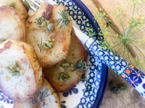 Ziemniaki po Mysliwsku (Polish Potatoes Hunter-Style)
