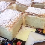 Kremówka Papieska or Papal Cream Cake