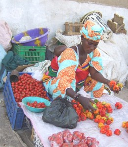 buying from local african markets