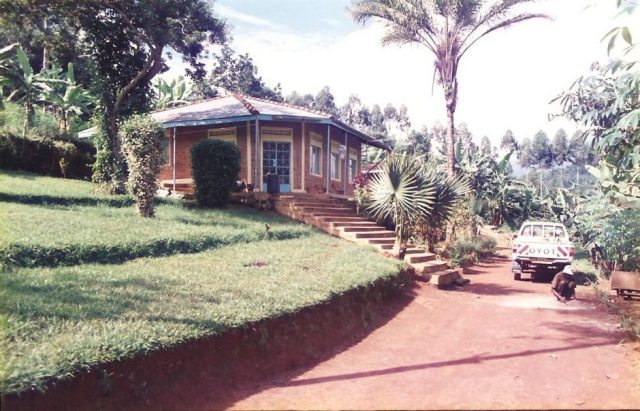 ian andersons house at bushika near mbale uganda