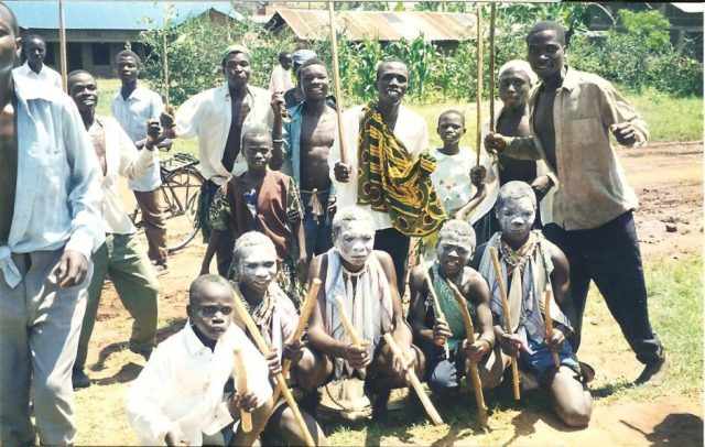 Young Ugandans in Mbale